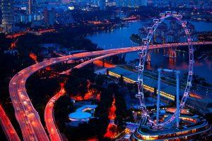 Singapore-Flyer-tour-on-limo