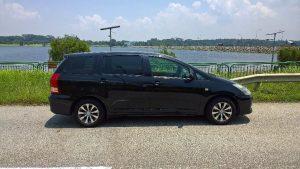 Toyota MPV hire renta Singapore