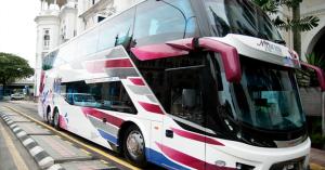luxury coach bus hire Singapore